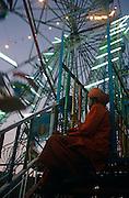 Ferris wheel at the Pushkar Fair, Rajasthan, India