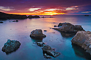 Sunset at Soberanes Point, Garrapata State Park, Big Sur, California