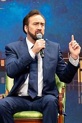 December 9, 2018 - Macau, Macau SAR, China - Nicolas Cage bei einem Podiumsgspräch auf dem 3rd International Film Festival & Awards Macao im Wynn Casino. Macau, 09.12.2018 (Credit Image: © Future-Image via ZUMA Press)