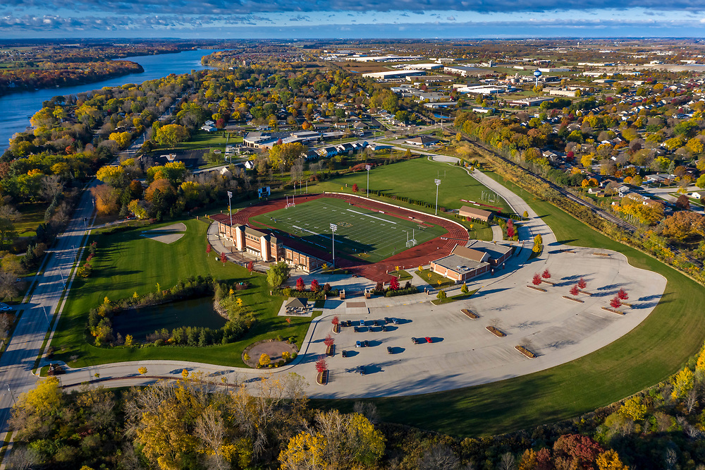 SNC campus fall 2020. Photo by Mike Roemer