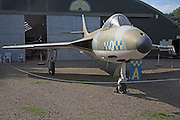 Hawker Hunter FGA9 Norfolk  Suffolk aviation museum Flixton Bungay England.