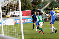 GOAL 1-1  Jamie Gullan (19) of Hibernian scores a goal 1-1 and celebrates, celebration during the Betfred Scottish League Cup match between Cove Rangers and Hibernian at Balmoral Stadium, Aberdeen, Scotland on 10 October 2020.