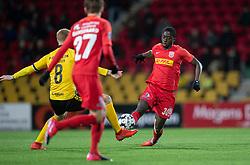 Abdul Mumin (FC Nordsjælland) under kampen i 3F Superligaen mellem FC Nordsjælland og AC Horsens den 19. februar 2020 i Right to Dream Park, Farum (Foto: Claus Birch).