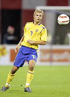 Fotball<br /> VM-kvalifisering<br /> Croatia / Kroatia v Sverige <br /> 08.10.2005<br /> Foto: Dppi/Digitalsport<br /> NORWAY ONLY<br /> <br /> NICLAS ALEXANDERSSON (SWE)