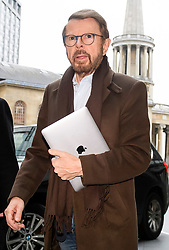 © Licensed to London News Pictures. 25/11/2018. London, UK. BJORN ULVAEUS of the Swedish pop group ABBA arrives at BBC Broadcasting House to appear on The Andrew Marr Show. Photo credit: Ben Cawthra/LNP