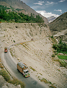 Karakoram Highway. People and places of the Hunza Valley, in the heart of the Karakoram mountain Range, North Pakistan.