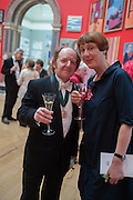 RICHARD WILSON; CORNELIA PARKER, Royal Academy of Arts Annual dinner. Piccadilly. London. 29 May 2012.