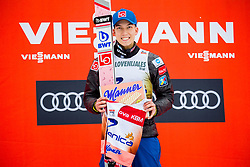 Johann Andre Forfang of Norway, Planica 7 during flower ceremony after the Ski Flying Hill Individual Competition at Day 2 of FIS Ski Jumping World Cup Final 2018, on March 23, 2018 in Planica, Ratece, Slovenia. Photo by Ziga Zupan / Sportida