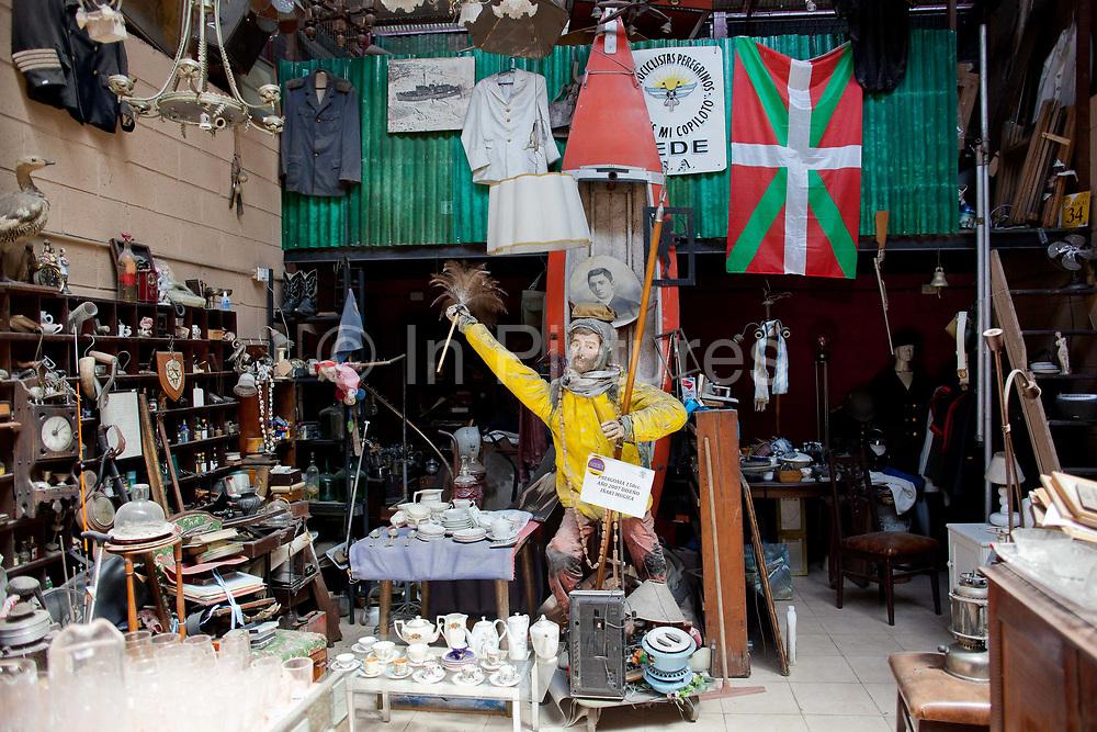 The Mercado de las Pulgas / flea market in San Telmo, is full of antique furniture, nik naks, some valuable, some not. A popular destination in Buenos Aires, Argentina.