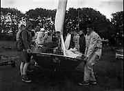 Irish dingy racing, Wexford. .23/06/1958 .