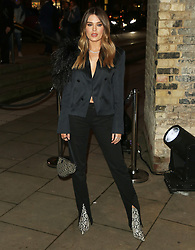 February 18, 2019 - London, United Kingdom - Chloe Lloyd attends the Fabulous Fund Fair as part of London Fashion Week event. (Credit Image: © Brett Cove/SOPA Images via ZUMA Wire)