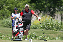 May 6, 2018 - The Colony, TX, U.S. - THE COLONY, TX - MAY 06: Laura Davies (ENG) waits to hit on the 4th tee during the Volunteers of America LPGA Texas Classic on May 6, 2018 at the Old American Golf Club in The Colony, TX. (Photo by George Walker/Icon Sportswire) (Credit Image: © George Walker/Icon SMI via ZUMA Press)
