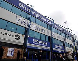 St Andrew's stadium - Photo mandatory by-line: Dougie Allward/JMP - Tel: Mobile: 07966 386802 18/01/2014 - SPORT - FOOTBALL - St Andrew's Stadium - Birmingham - Birmingham City v Yeovil Town - Sky Bet Championship