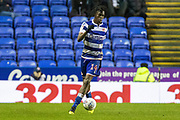 Ovie Ejaria (14) of Reading on the ball during the EFL Sky Bet Championship match between Reading and Derby County at the Madejski Stadium, Reading, England on 21 December 2019.