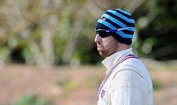 Somerset's Jack Leach - Photo mandatory by-line: Harry Trump/JMP - Mobile: 07966 386802 - 24/03/15 - SPORT - CRICKET - Pre Season Fixture - Day 2 - Somerset v Glamorgan - Taunton Vale Cricket Club, Somerset, England.