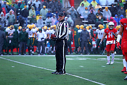 18 November 2017:   Paul Janus during the North Dakota State Bison at Illinois State Redbirds Football game at Hancock Stadium in Normal IL (Photo by Alan Look)