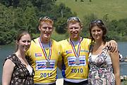 Lucerne, Switzerland.  2010 FISA World Cup. Lake Rotsee, Lucerne.  13:31:08   Sunday  11/07/2010.  [Mandatory Credit Peter Spurrier/ Intersport Images]