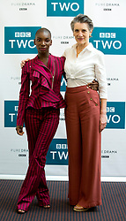 Michaela Coel (left) and Harriet Walter attending a photocall at BAFTA Picadilly in London.