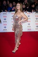 Maisie Smith at the 25th National Television Awards,O2, London, UK 28 Jan 2020  photos by Brian Jordan
