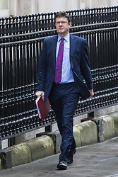Downing Street, London, January 31 2017.Business Secretary Greg Clark arrives at the weekly meeting of the UK cabinet.