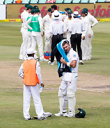 Durban. 040318. Aiden Markham during day 4 of the 1st Sunfoil Test match between South Africa and Australia at Sahara Stadium Kingsmead on March 04, 2018 in Durban, South Africa. Picture Leon Lestrade/African News Agency/ANA