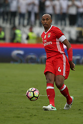 May 28, 2017 - Lisbon, Portugal - Benfica's Brazilian defender Luisao in action during the Portugal Cup Final football match  SL Benfica vs Vitoria Guimaraes SC at Jamor stadium in Oeiras, outskirts of Lisbon, on May 28, 2017. Photo: Pedro Fiuza  (Credit Image: © Pedro Fiuza/NurPhoto via ZUMA Press)