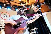 Gabrielle Aplin performs in Madrid's El Sol Ballroom