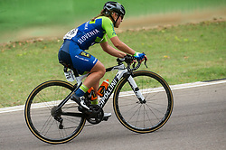 BRAVEC Urska of Slovenia competes during Women Elite Road Race at UCI Road World Championship 2020, on September 26, 2020 in Imola, Italy. Photo by Vid Ponikvar / Sportida