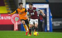 Football - 2020 / 2021 Premier League - Burnley vs Wolverhampton Wanderers - Turf Moor<br /> <br /> Robbie Brady of Burnley and Rayan Ait-Nouri of Wolves at Turf Moor <br /> <br /> <br /> COLORSPORT/LYNNE CAMERON