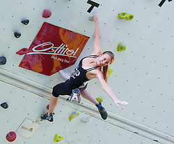 31.07.2015, Mariahilfer Straße, Wien, AUT, ISFC, Free Solo Masters MAHÜ, Vorqualifikation, im Bild Gerlinde Glück // during the prequalification of the ISFC Free Solo Masters MAHÜ at the Mariahilfer Straße in Vienna, Austria on 2015/07/31. EXPA Pictures © 2015, PhotoCredit: EXPA/ Sebastian Pucher