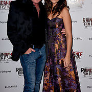 Michael Flatley and Lara Lemon attend Blackbird - World Premiere with Michael Flatley at May Fair Hotel, London, UK. 28th September 2018.
