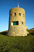 Eighteenth century loophole 'martello' tower number 4, L'Ancresse, Guernsey