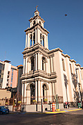 The Iglesia Sagrado Corazon de Jesus or Sacred Heart of Jesus Church in the Barrio Antiguo neighborhood of Monterrey, Nuevo Leon, Mexico. The church was built between between 1873 and 1904.