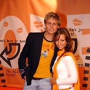 Uitreiking Kids Choice Awards 2004, Joel Tombe en vriendin
