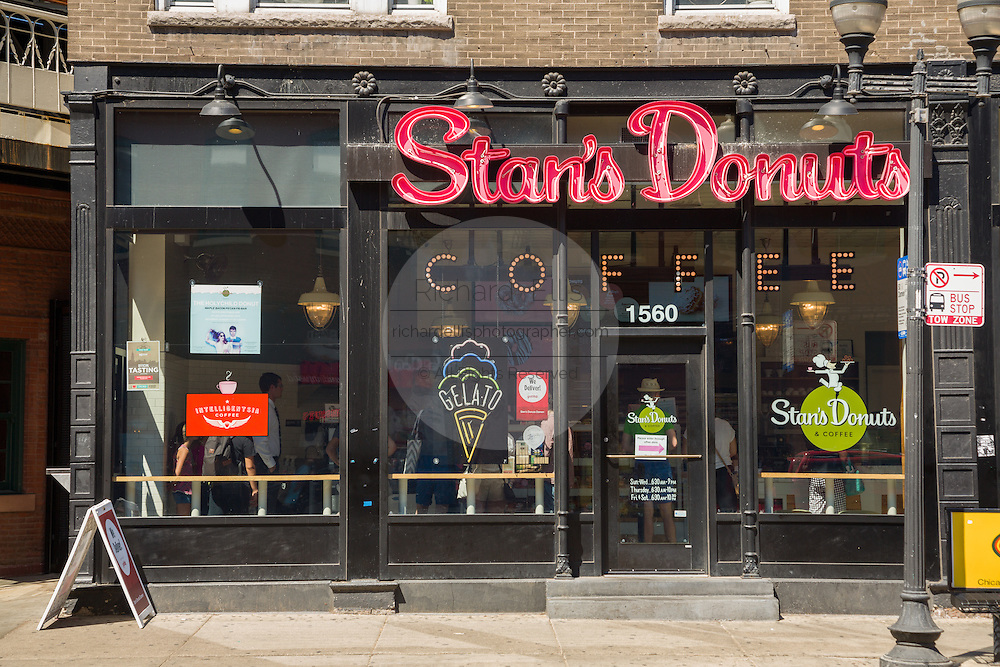 Stans doughnut shop in Wicker Park August 2, 2015 in Chicago, Illinois, USA.