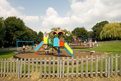 Childrens playground, Raphael Park, Havering London UK