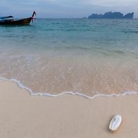 Long Beach at Koh Phi Phi Leh Island.