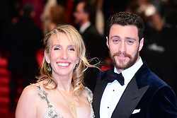 Sam Taylor-Johnson and Aaron Taylor-Johnson attending the EE British Academy Film Awards held at the Royal Albert Hall, Kensington Gore, Kensington, London. PRESS ASSOCIATION Photo. Picture date: Sunday 12 February 2017. See PA Story SHOWBIZ Bafta. Photo credit should read: Ian West/PA Wire