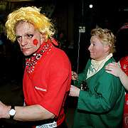 Gehandicapten carnaval in het Jan Ligthartcentrum georganiseerd door de Gooikikkers