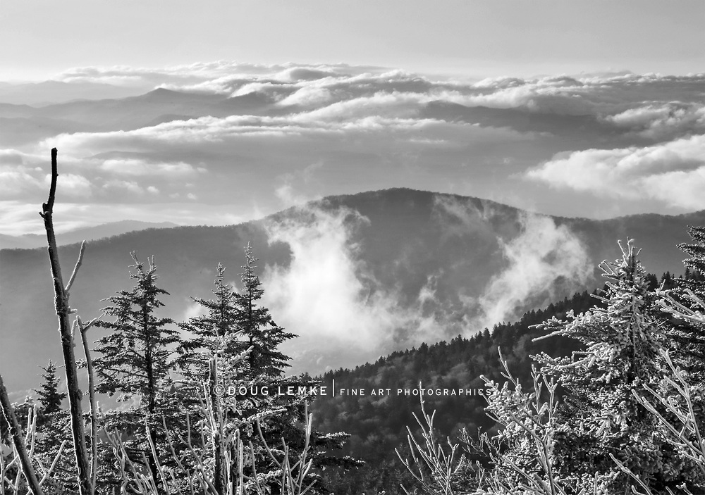Sunrise At Clingman's Dome In The Great Smoky Mountains National Park, Tennessee - North Carolina