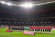 Spain and Argentina teams during the International friendly game football match between Spain and Argentina on march 27, 2018 at Wanda Metropolitano Stadium in Madrid, Spain - Photo Rudy / Spain ProSportsImages / DPPI / ProSportsImages / DPPI