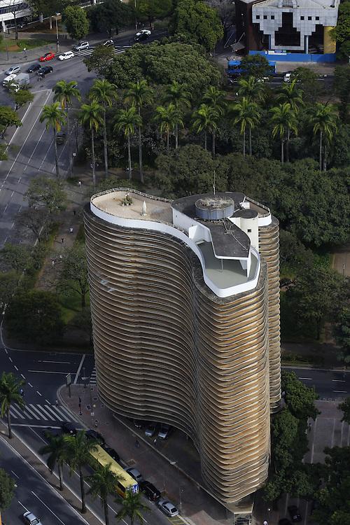 Belo Horizonte_MG, Brasil.<br /> <br /> Circuito Cultural Praca da Liberdade em Belo Horizonte, Minas Gerais. Na foto Edificio Niemeyer projetado por Oscar Niemeyer.<br /> <br /> The Liberdade Square Cultural Circuit in Belo Horizonte, Minas Gerais. In this photo Edificio Niemeyer designed by Oscar Niemeyer.<br /> <br /> Foto: MARCUS DESIMONI / NITRO