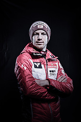 12.10.2019, Olympiahalle, Innsbruck, AUT, FIS Weltcup Ski Alpin, im Bild Michael Hayboeck // during Outfitting of the Ski Austria Winter Collection and the official Austrian Ski Federation 2019/ 2020 Portrait Session at the Olympiahalle in Innsbruck, Austria on 2019/10/12. EXPA Pictures © 2020, PhotoCredit: EXPA/ JFK