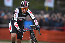 January 5, 2019 - Gullegem, BELGIUM - Belgian Gianni Vermeersch pictured in action during the men elite race of the Gullegem Cyclocross, Saturday 05 January 2019 in Gullegem, Belgium. BELGA PHOTO DAVID STOCKMAN (Credit Image: © David Stockman/Belga via ZUMA Press)