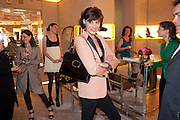 NINE D'URSO;  INES DE LA FRESSANGE, Cocktail party to launch the Miss Viv bag. ( Smash-and-grab raiders seized more than a dozen  of the handbags but they were recovered after the raiders crashed their motorbike and the bags spilled out onto the street. )<br /> Roger Vivier, 188 Sloane Street, London SW1,