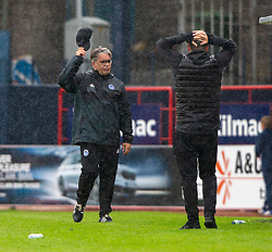 Ayr United's manager Ian McCall. Dundee 1 v 0 Ayr United, Scottish Championship game played 10/8/2019.