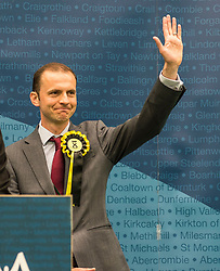 After a third recount in the North East Fife constituency the SNP's Stephen Gethins was elected  with a majority of 2, beating the Lib Dem's Elizabeth Riches. The count went on for almost 7 hours, resulting in counting staff sleeping at their positions.<br /> <br /> © Dave Johnston/ EEm