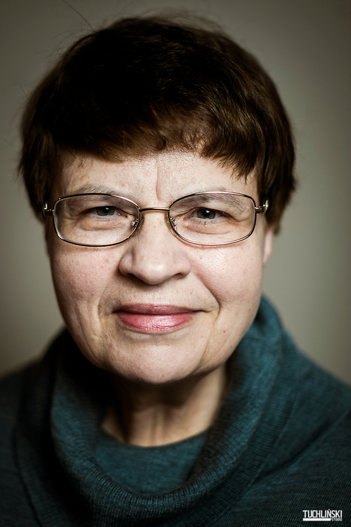 Warszawa, Polska 06.03.2014 r. <br /> Prof. dr hab. Maria  Koczerska historyk z Uniwersyteyu Warszawskiego. <br /> Fot. Adam Tuchlinski/Newsweek