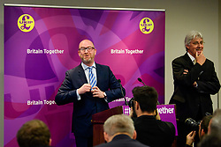 © Licensed to London News Pictures. 08/05/2017. London, UK. UKIP party leader PAUL NUTTALL and UKIP Migration Spokesperson JOHN BICKLEY speaking at a party policy announcement on migration in Westminster, London, ahead of a general election on June 8. Photo credit: Ben Cawthra/LNP