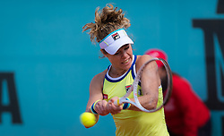 May 3, 2019 - Madrid, MADRID, SPAIN - Laura Siegemund of Germany in action during qualifications at the 2019 Mutua Madrid Open WTA Premier Mandatory tennis tournament (Credit Image: © AFP7 via ZUMA Wire)
